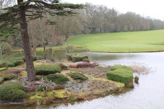 Fota Island Golf Club: The view from the balcony is amazing