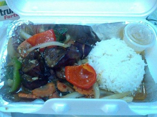 Eggplant delight - Picture of Bangkok Thai Cuisine, Newmarket ...