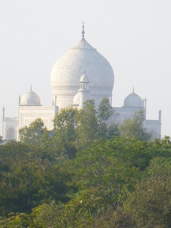 The Oberoi Amarvilas: Our view of the Taj Mahal
