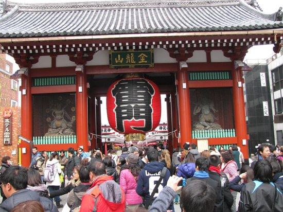 Senso-ji Temple : Thunder Gate