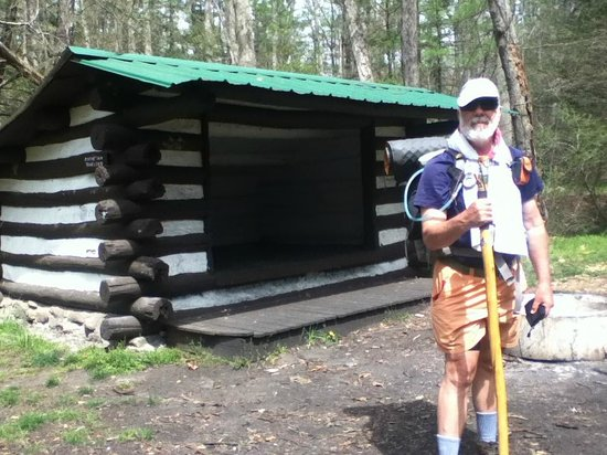 Appalachian National Scenic Trail: Hiker shelter along the AT