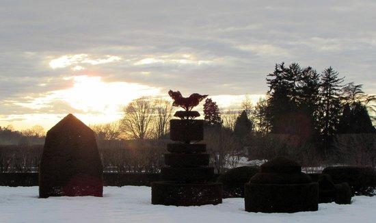Longwood Gardens: SUNSET
