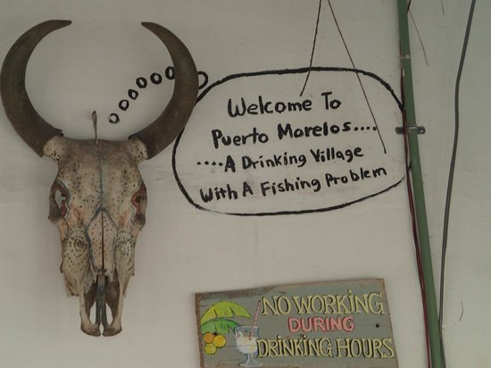 """Azul Beach Resort Riviera Cancun: Nearby Puerto Morelos: """"A drinking village with a fishing problem"""".  Expect the best fish ever h"""
