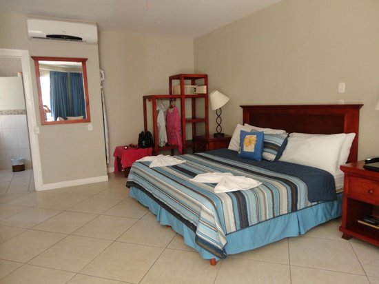 The Hideaway Hotel Playa Samara : Spacious and airy