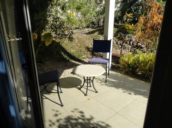 The Hideaway Hotel Playa Samara: Private out door patio