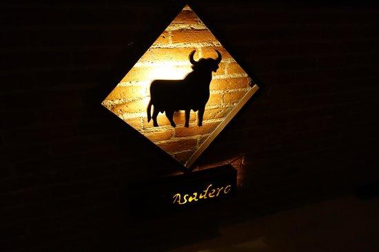 El Asadero : the sign