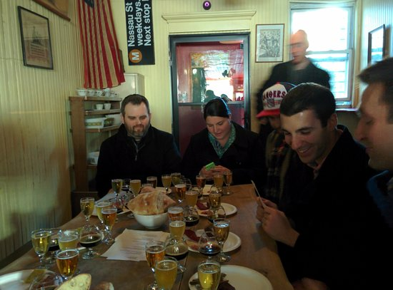 The New York Beer and Brewery Tour : Spuyten Duyvil meat and cheese pairing