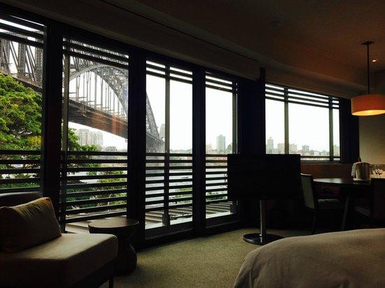 Park Hyatt Sydney: Sydney Bridge View from Room