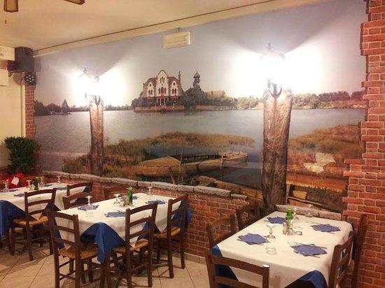 Malcontenta, อิตาลี: vista su valle zappa