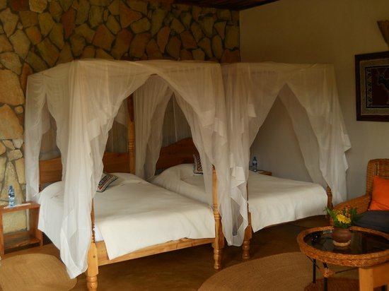 Country Lodge: Comfortable beds