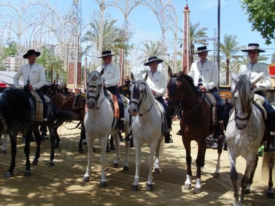 Jerez De La Frontera, Spanien: Feria del Caballo