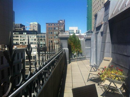 Hotel Gault: Terrace