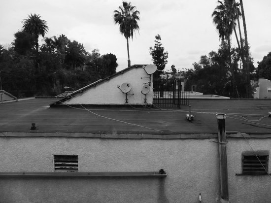 Comfort Inn - Los Angeles / West Sunset Blvd.: View from 3rd floor room