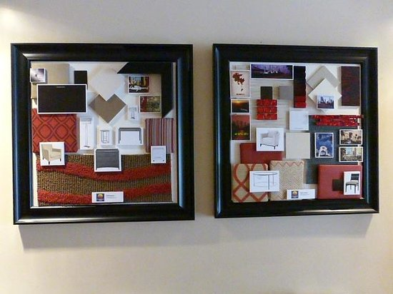 Comfort Inn - Los Angeles / West Sunset Blvd.: Display in lobby for renovations