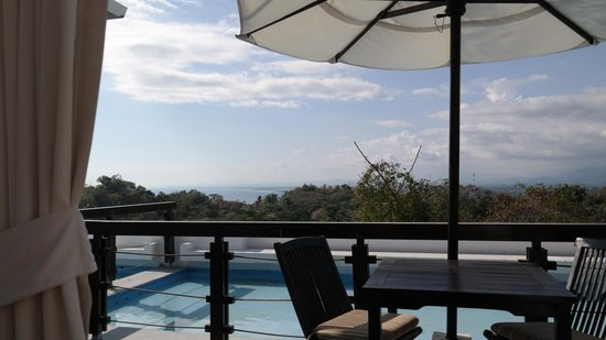 Gaia Hotel & Reserve : View from private balcony!