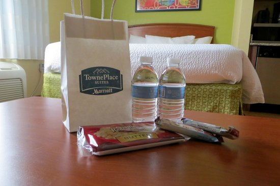 TownePlace Suites Newport News Yorktown: Thank you for  my Marriott Rewards Platinum Elite gift