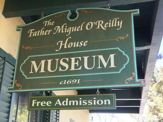 Father Miguel O'Reilly House Museum: Museum