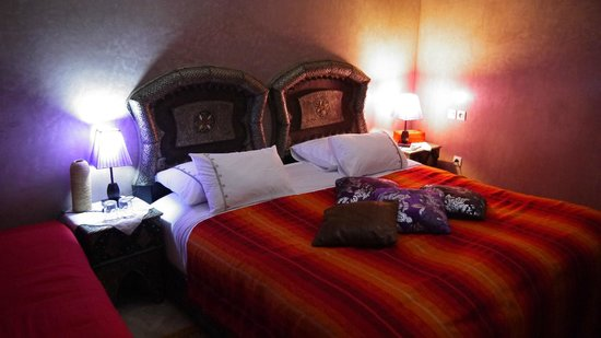 Riad Princesse du Desert : Bedroom