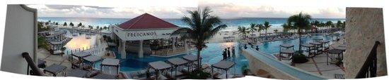 Hyatt Zilara Cancun : Panoramic view from 219