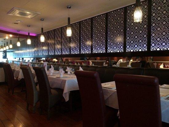 Anokaa Restaurant: Beautiful decor.