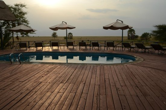 Maramboi Tented Camp: Beautiful pool area.