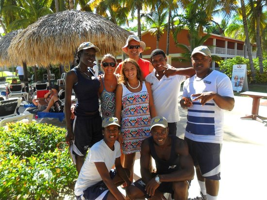 Grand Palladium Punta Cana Resort & Spa : Equipo de animacion