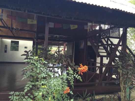 Negril Yoga Centre: Outdoor Yoga Platform