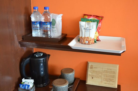 Sparsa Resort: tea/coffee and snacks