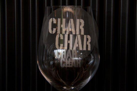 Char Char Bar & Grill: Wine Glass