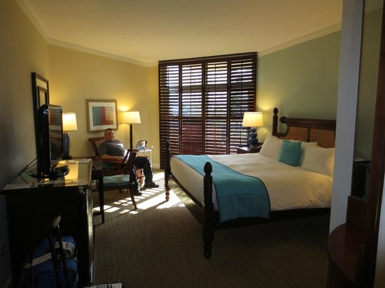 Hilton Aruba Caribbean Resort & Casino: Comfortable and spacious rooms