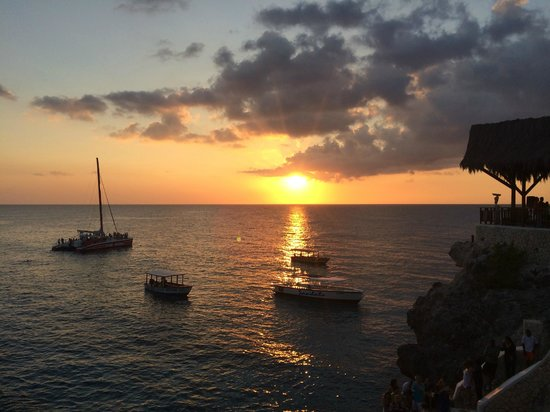 Negril Yoga Centre : Sunset in the West End
