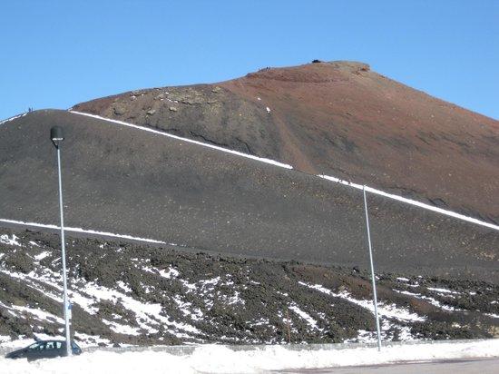 Monte Etna: crater