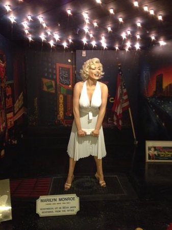 Sexmuseum Amsterdam Venustempel: Marilyn Monroe