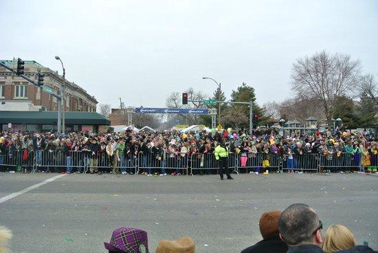 Soulard: Mardi Gras parade