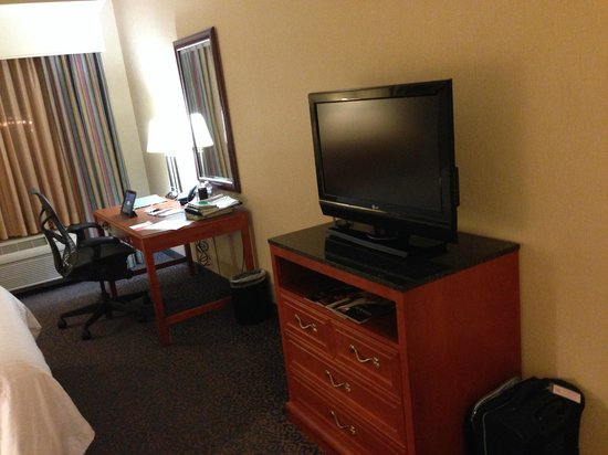 Hilton Garden Inn Las Vegas Strip South: TV and Desk