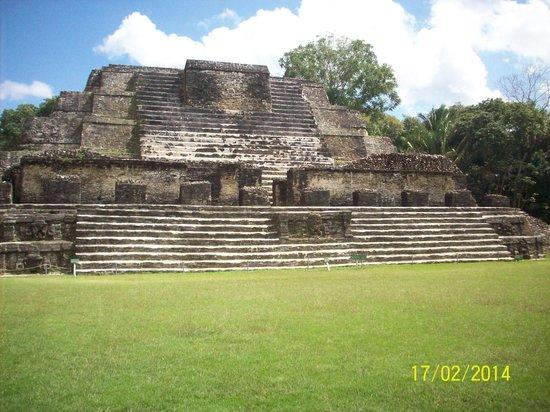 Maya-Ruinen von Altun Ha: Mayan Ruin