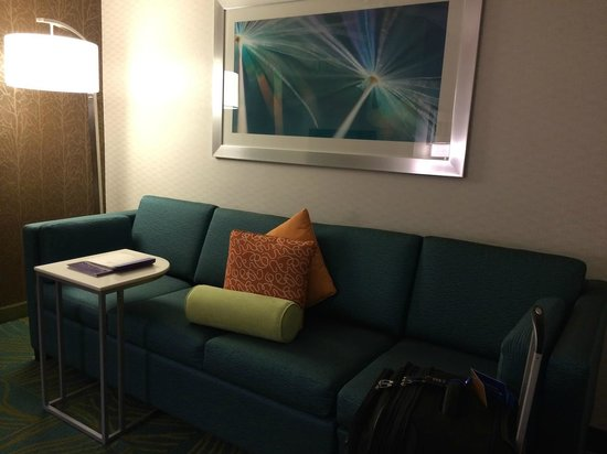 SpringHill Suites Columbus Airport Gahanna: Couch