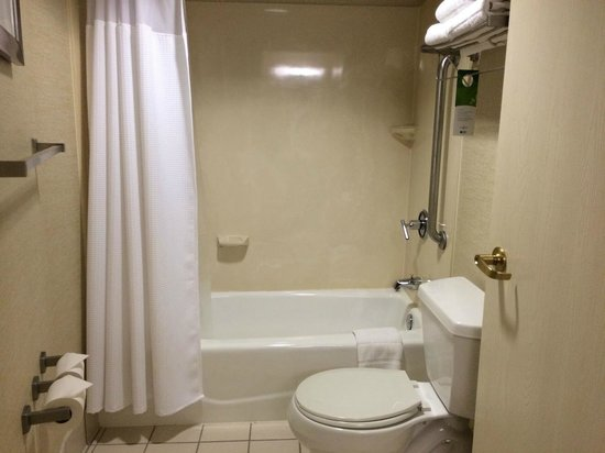 SpringHill Suites Columbus Airport Gahanna : Shower