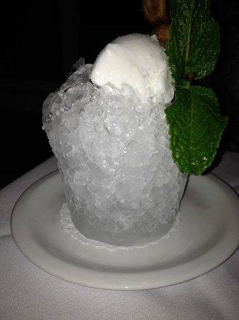 Tersiguel's : Coconut Sorbet