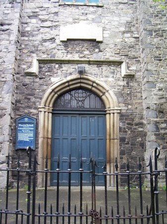 Entrance to St. Audoen's Church
