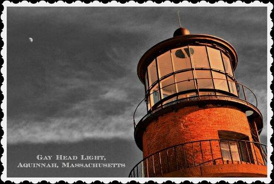Gay Head Light  (Aquinnah Light): The lantern room of Gay Head Light