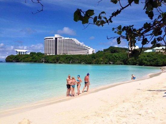 Tumon Bay Capital Hotel : Timon Beach, hotel is NOT the Capital!
