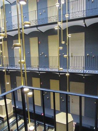 Hotel Espana: interior atrium