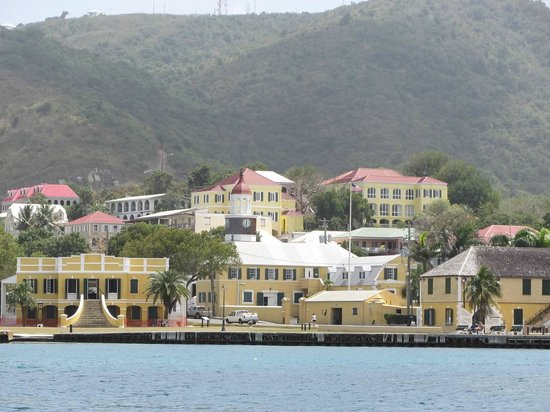 Views of Christiansted from Protestant Cay