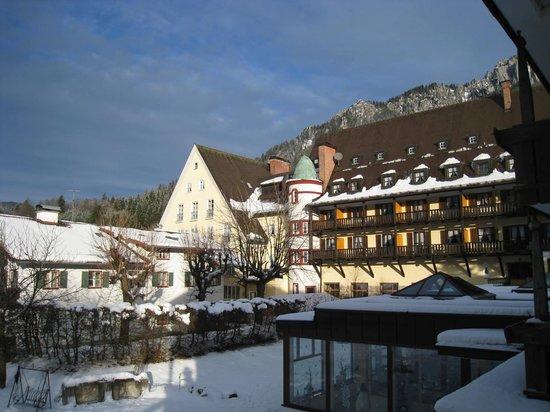 Hotel Klosterhotel Ludwig der Bayer: Rear of the hotel