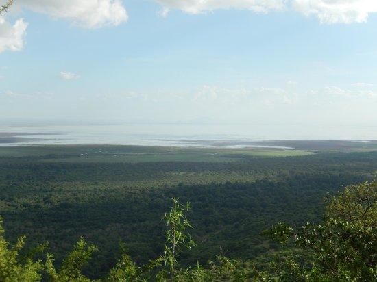 Lake Manyara Serena Lodge: Lake Manyara at Sunset