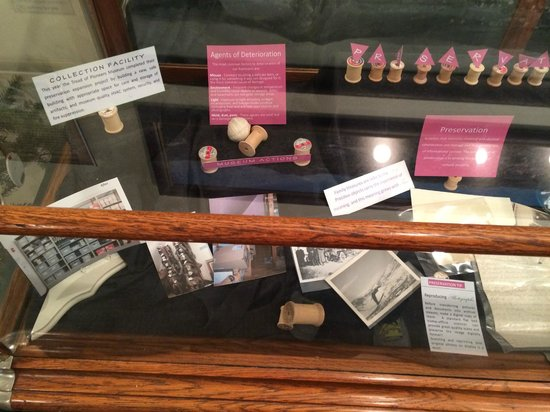 Tread of Pioneers Museum: Great description of museum preservation activities.