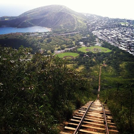 Koko Crater Trail : from almost the top
