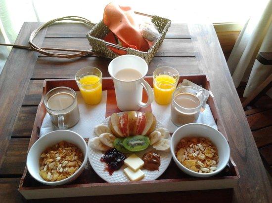 Complejo Siyabona : El desayuno increible!