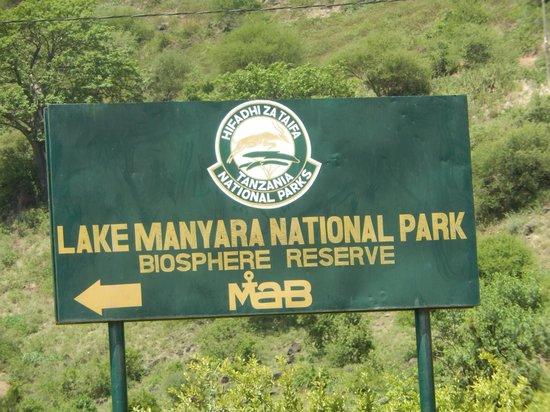 Lake Manyara Serena Lodge : National Park Entrance